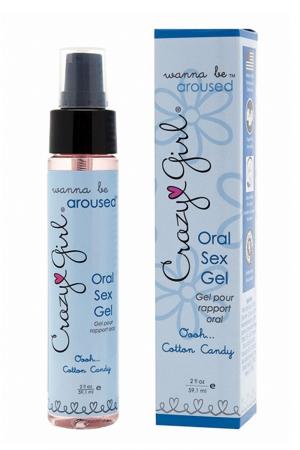 16236 300 gel sexe oral crazy girl cotton candy
